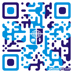 QR code with logo 1KNh0