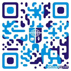 QR code with logo 1KNn0