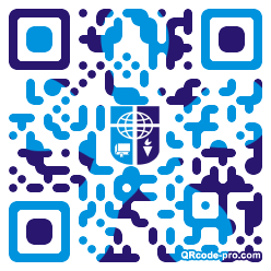 QR code with logo 1KQR0