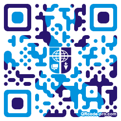 QR code with logo 1KR30