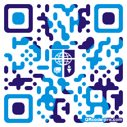 QR code with logo 1KR50