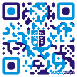QR code with logo 1KR60