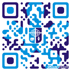 QR code with logo 1KR70