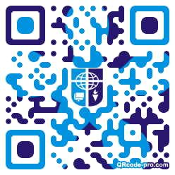 QR code with logo 1KR80