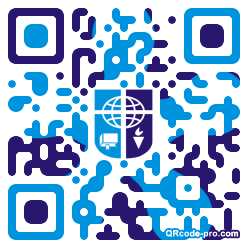 QR code with logo 1KR90