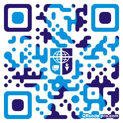 QR code with logo 1KRE0