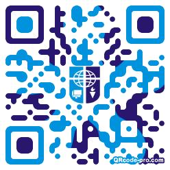 QR code with logo 1KRK0