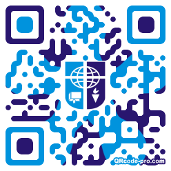 QR code with logo 1KRx0