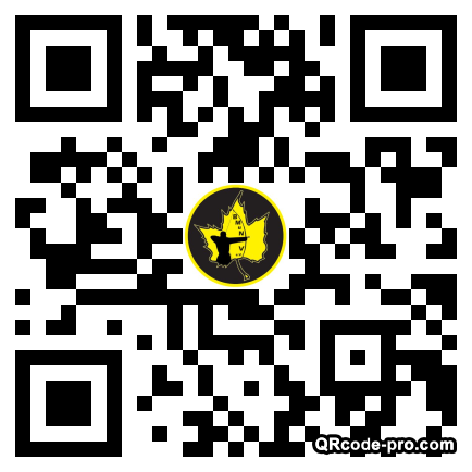 QR code with logo 1KV00