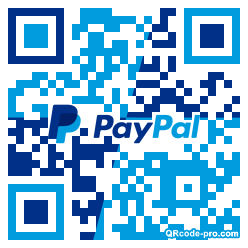 QR code with logo 1Kfg0