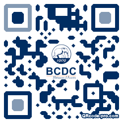 QR code with logo 1Kr40