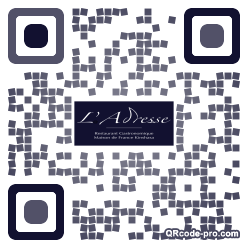QR code with logo 1Ksn0