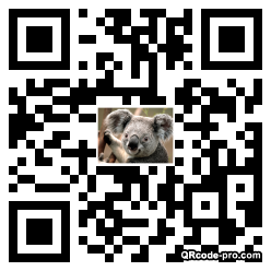 QR code with logo 1Ky90