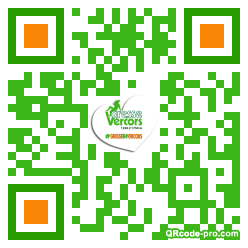 QR code with logo 1L3t0