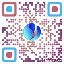 QR code with logo 1L8O0
