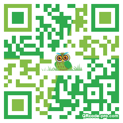 QR code with logo 1LAd0
