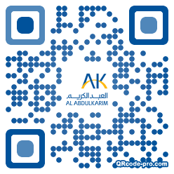 QR code with logo 1LBB0