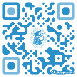 QR code with logo 1LLL0