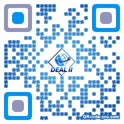 QR code with logo 1LMz0