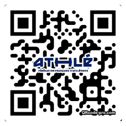 QR code with logo 1LN00