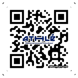 QR code with logo 1LN40