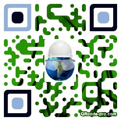 QR code with logo 1LOj0