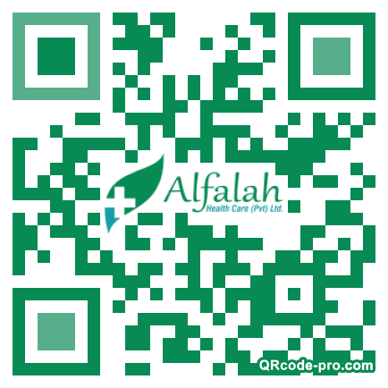 QR code with logo 1LRe0