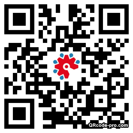 QR code with logo 1LaF0