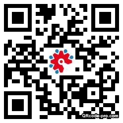QR code with logo 1LaI0