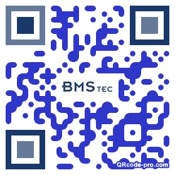 QR code with logo 1LeM0