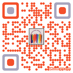 QR code with logo 1Lv40