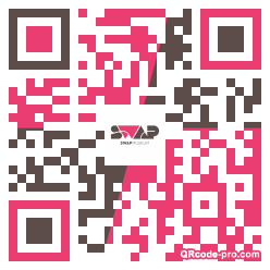 QR code with logo 1M3f0