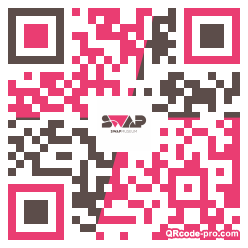 QR code with logo 1M3i0