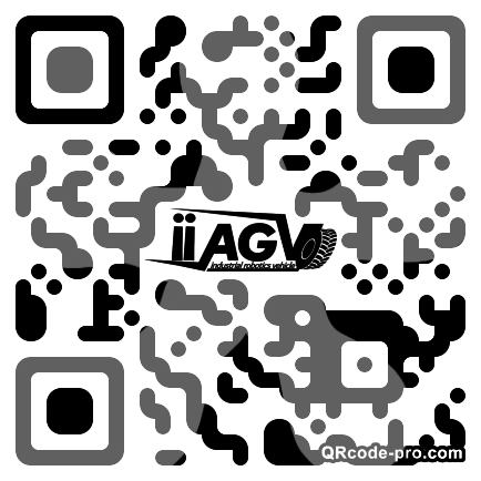 QR code with logo 1M7n0