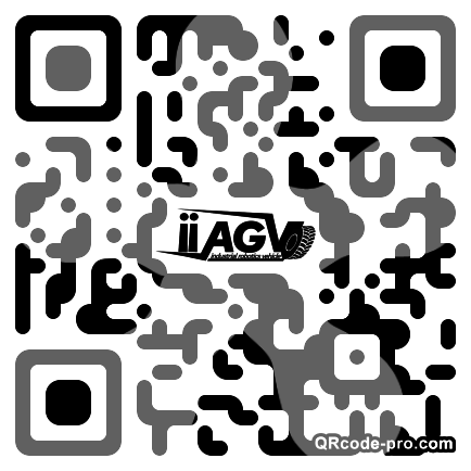 QR code with logo 1M860