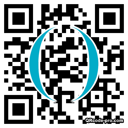 QR code with logo 1MBT0