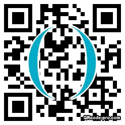 QR code with logo 1MBU0