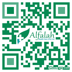 QR code with logo 1MBo0
