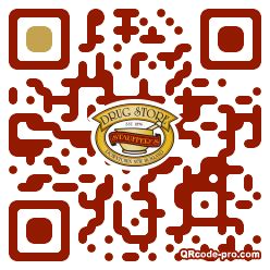 QR code with logo 1MHZ0