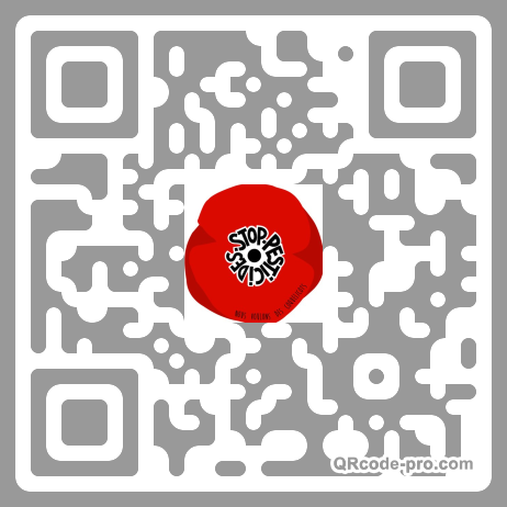 QR code with logo 1MT60