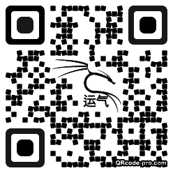 QR code with logo 1MV40