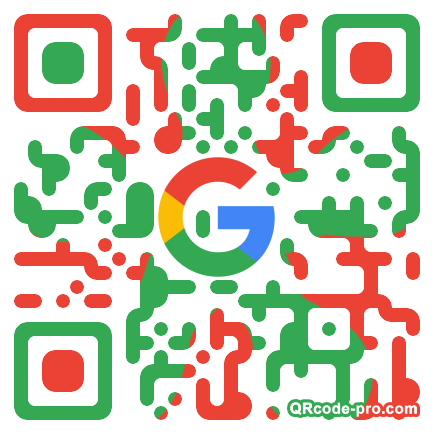 QR code with logo 1MeA0