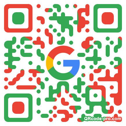 QR code with logo 1Mew0