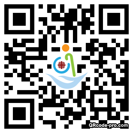 QR code with logo 1MgI0