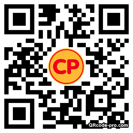 QR code with logo 1Mj20