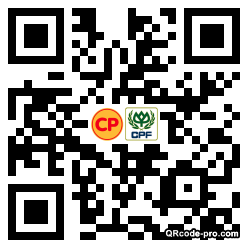 QR code with logo 1Mj40