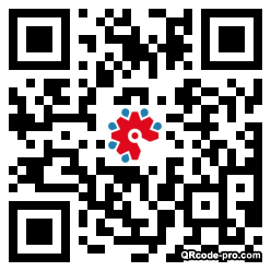 QR code with logo 1Ml00