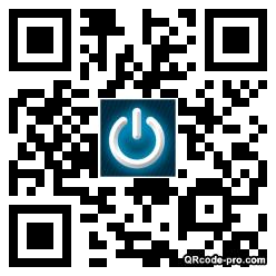 QR code with logo 1Mmr0