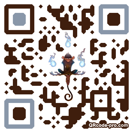 QR code with logo 1Mor0