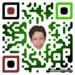 QR code with logo 1MxV0